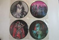 KISS AN INTERVIEW WITH GENE SIMMONS PAUL STANLEY OCT. 1983 4 PICTURE DISCS RARE