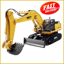 Excavator 1:12 RC Car With Battery HuiNa 1510 RC Crawler Car 15CH 2.4G Metal Exc
