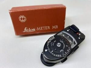READ [Exc+5 CLA'd] Leica Meter MR-4 MR4 Black For M2 M3 M4 M4-2 M4-P From Japan