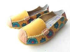 Joansam EUR 38 US 7M Driving Moccasins Loafer Slipper Leather TV Remote Sole