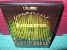 RIGOLETTO - GIUSEPPE VERDI - dvd