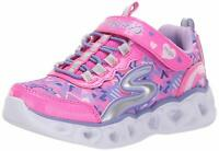 Skechers Children Shoes 20180L Fabric, Neon Pink/Multi, Size 13.0 GfIU