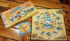 Baby Smurf (Board Game) 1984 Milton Bradley vintage classic kids family RARE OOP