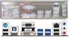ATX Blende I/O shield Asus H87I-Plus #636 io OVP NEU backplate bracket NEW