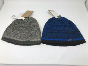 CHAOS Keegan Beanie Winter Hat - ONE SIZE - BLUE/GREY - NEW WITH TAGS!