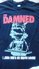 THE DAMNED - I Just can't be happy today T-Shirt Size XXL.New.2XL,Punk,Rock,Goth