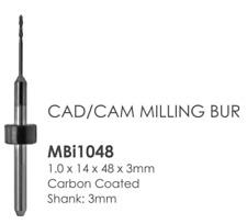 Imes Icore 1.00 3mm shank Dental Bur to mill Zirconia