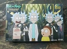 New Rick And Morty Deck Building Game Adult Swim Cryptozoic Cerebus CU