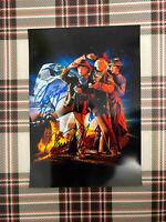 📸 Michael J. Fox Christopher Lloyd Back to the Future signed photo 6x8 inch coa