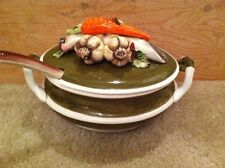 Amart 5th.Ave.Garden Harvest Soup tureen with Ladle