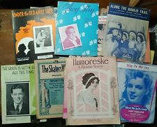 New ListingBig Lot of Vintage Sheet Music Song Books Piano Organ Guitar Vocals Accordion +