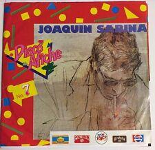 """JOAQUIN SABINA BESOS EN LA FRENTE/UNA DE ROMANOS COLOMBIAN 7"""" SINGLE PS PROMO"""