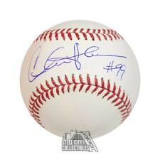 Charlie Sheen Autographed Official Mlb Baseball - Bas Coa