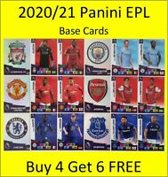 2020/21 Panini Adrenalyn EPL Cards - Base Cards #10 to #189 - Buy 4 Get 6 FREE