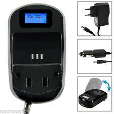 Chargeur Batterie Ecran LCD Secteur 220V Voiture 12V CR123A / CR-123A