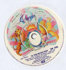 """Queen-Tie tu madre abajo 7"""" solo 1976"""