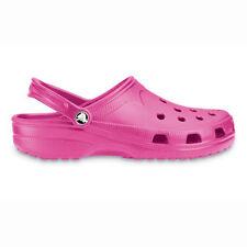 NEW Crocs Beach Fuchsia Womens/Girls Clogs/Shoes Sz 4/5