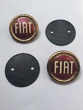 Set Fiat 124 Spider and Dino Spider Emblem NEW