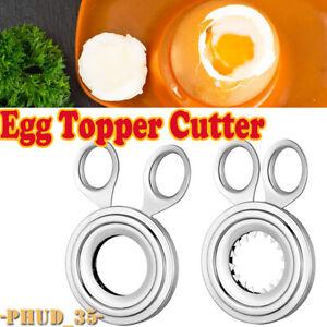 Boiled Egg Shell Topper Scissors Stainless Steel Cutter Clipper Cracker Slicer