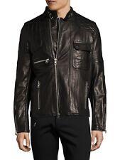 Diesel Black Gold Lunt Veste en cuir taille 46 (S) 100% Authentique 5763fb8de8bc