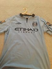 Manchester City 12-13 Player Issue Size 42 Sergio Aguero 16