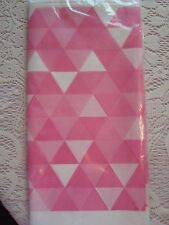 Pink Plastic Tablecloth; Bridal Showers; Baby Shower; Birthday Party Decorations