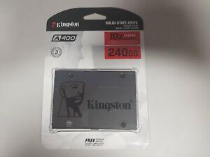 Kingston A400 240GB sataIII SSD SOLID STATE DRIVE SA400S37/240G