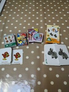 Childrens snap cards