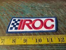 VINTAGE IROC RACING PATCH PORSCHE RSR CHEVY CAMARO DODGE DAYTONA TRANS AM Z28
