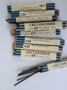 VTG Soviet 10 Boxes  Lot MECHANICAL PENCIL LEAD 2.2mm