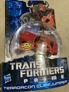 Transformers Prime First Edition Deluxe Class Terrorcon Cliffjumper New Sealed