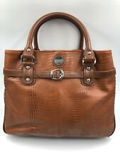 Jill E Satchel Camera Laptop I pad Shoulder Handbag Tan Tote Large