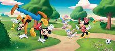 "201x88.9cm panorámico Papel pintado para dormitorio infantil Disney ""Mickey"