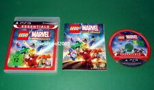 Lego Marvel Super Heroes , Essentials, Anleitung und OVP fuer Playstation 3 PS3