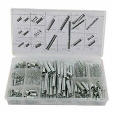 Set Kit 200 Pezzi Molle In Metallo A Compressione A Trazione Varie Misure dfh