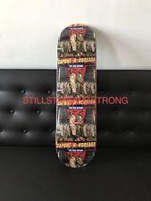 SUPREME CAPONE N NOREAGA CNN skateboard deck sealed MINT F/W 16 hirst damien