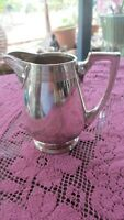 Vintage silver plate Milk Jug  Queen City silver co Cincinnati OH U.S.A