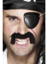Smiffys Black Pirate Eye Patch Fancy Dress Accessories