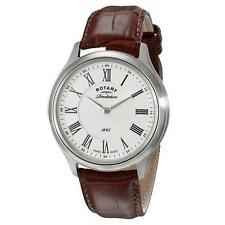 Rotary Revelation Men's GS02965 Dual Face  Swiss Quartz Strap Watch