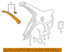 TOYOTA OEM 98-02 Corolla Exterior-Drip Molding Right 7505502020