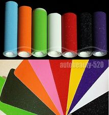 1 Set Samples - Car Sparkle Flashy Glitter Vinyl Wrap Sticker Film 8cm x 12cm