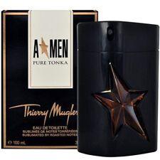 ANGEL MEN PURE TONKA-Thierry Mugler - EAU DE TOILETTE SPRAY 3.4 oz Rubber Flask
