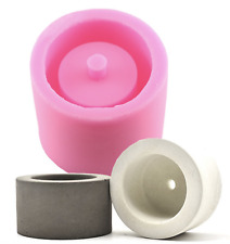 Round Vase Flower Pot Silicone Mold Soap Polymer Clay Silicon Mould