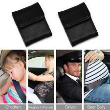 2 X Car Seat Belt Adjuster Covers Shoulder Neck Protector Strap Safe Comfort