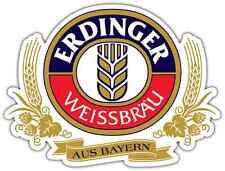 "Erdinger Beer Alcohol Car Bumper Window Locker Sticker Decal 5""X4"""