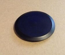 "2"" (2.0 Inch) Flush Mount Black Plastic Body and Sheet Metal Hole Plug"