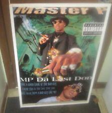 MASTER P  SEALED NEW  RAP HIP HOP RARE SEALED  POSTER  1990'S TRU