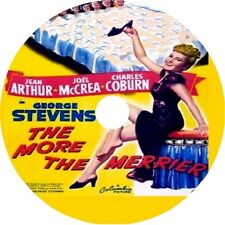 The More the Merrier -Jean Arthur Joel McCrea Charles Coburn Rare comedy 1943