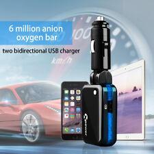 Car Fresh Air Purifier Filter SUV Cleaner Smoke Remove Oxygen Bar Ozone Ionizer