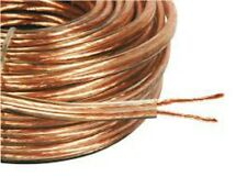 10m THICK SPEAKER WIRE CABLE SUPER HIGH QUALITY OFC 2 X 20 STRANDS OXYGEN FREE